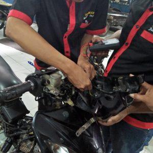 Service Sistem Penerangan dan Wiring Motor